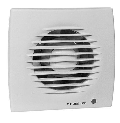 Ventilátory zpětná klapka
