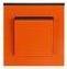 Oranžová/kouřová černá
