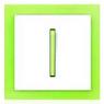 Bílá/ledová zelená