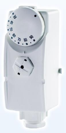 Příložné termostaty