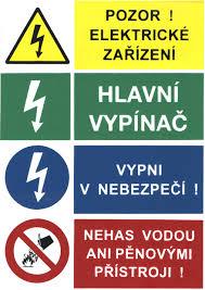 Výstražné štítky